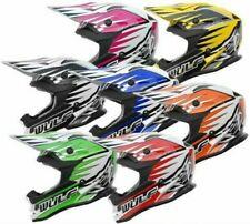 Wulfsport Petit Enfants Junior Junior Motocross Atv Enduro Trial Advance Casque