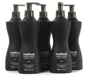 5 Bottles Method 11.5 Oz Yuzu Plant Based Cleansers Hand Wash