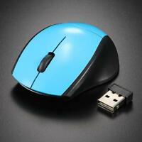 2.4GHz Optical Mouse Cordless USB Receiver PC Computer Wireless For Laptop #f