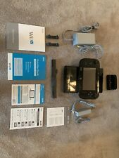 Nintendo Wii U 32GB Deluxe Console w/ GamePad WUP-101(02) - Black