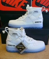 *EXCLUSIVE* Nike Air Force 1 High Gore Tex White UK 8 US9 Q7211-002 Ice £229 ONO