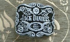 BRAND NEW Jack Daniels  Metal Belt Buckle - UK Seller (Silver & Black)