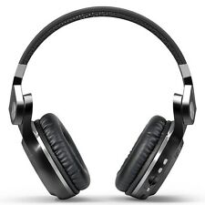 4.1 Bluetooth Wireless Hi-Fi Foldable Rotating App Headset with FM Radio (Black)