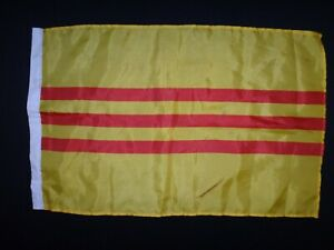 Vietnam War ARVN South Vietnamese Army Small Size Battle Flag