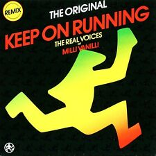 Real Voices Of Milli Vanilli (The) 12'' Keep On Running (Remix) - Germany