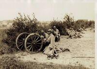 Les grandes manœuvres de l'Est le canon de 37 en action ,photo meurisse