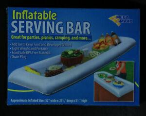 """Mega Maxx Inflatable Pool / Spa Serving Bar 52"""" x 25.5 x 5.5"""" NEW"""