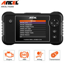 Car EOBD OBD2 Scanner Tool Engine SRS ABS Airbag Transmission Check Code Reader