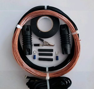 Shortwave Receiver Antenna - 100' Bare Copper Longwire -  EZ UP w/inst