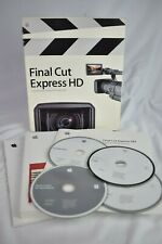 Apple Mac Final Cut Express HD v3  Boxed and Complete