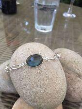 Handmade Labradorite Sterling Silver Fine Bracelets