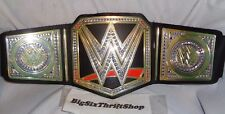 WWE World Heavyweight Championship Belt Replica TOY OFFICIAL SMACKDOWN 2014