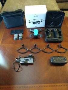DJI Spark Fly More Combo with Original Box and Accessories