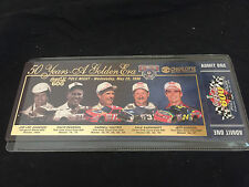 NASCAR 50 YEARS A GOLDEN ERA 5 TICKET LOT TICKET 2 OF 25,000 CHARLOTTE