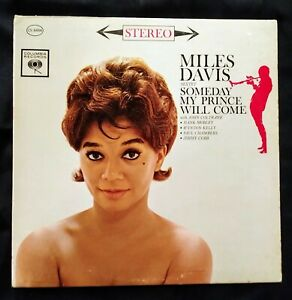 MILES DAVIS SOMEDAY MY PRINCE WILL COME 6 EYE COLUMBIA LP EXC 1A & 1B DEAD WAX