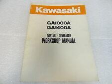 Kawasaki  99924-2012 Portable Generator Workshop Manual GA GA1400 GA1000
