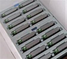 KATO 1064650 + 1064651 N BURLINGTON NORTHERN Protein Gondolas 16 Car set #1 & 2