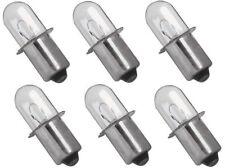 (6) Milwaukee 18 Volt Xenon Bulb Replacement M18 Flashlight