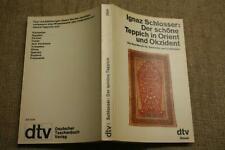 Sammlerbuch alte Teppiche Orient, Okzident, Orientteppiche, Teppichkunde, 1979