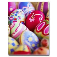 "*Postcard-""Happy Easter"" ...Variety of Decorated Easter Eggs (A-39)"