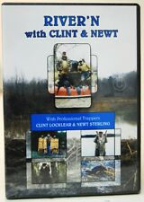 DVD  River'n with Clint Locklear & Newt Sterling trap fox coyote bobcat beaver