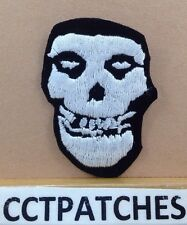 THE MISFITS CRIMSON GHOST SKULL PATCH
