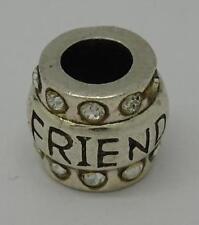 * auténtica plata esterlina encanto empresa 'Friends' encanto *