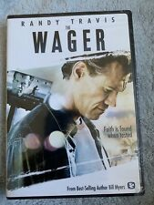 New listing New Sealed Christian Drama Widescreen Dvd! The Wager - Randy Travis (Bill Myers)