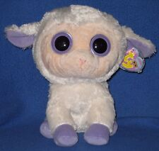 "TY BEANIE BOOS BOO'S - CLOVER the 9"" LAMB - BUDDY SIZE - MINT with MINT TAG"