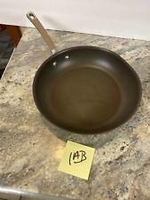 "Circulon Bronze Premier Nonstick Professional 12"" Skillet Pan - SEE"