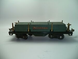 Lionel Lines No. 511 Standard Gauge Stake Bed Flat Car with Wood Load