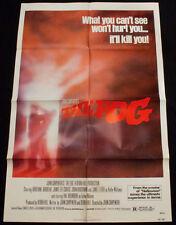 THE FOG Original 1980 Movie Poster John Carpenter Jaime Lee Curtis