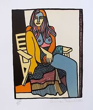 Anna Thornhill FREE SPIRIT Hand Signed Limited Edition Lithograph