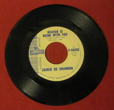 """JACKIE DE SHANNON """"HEAVEN IS BEING WITH YOU"""" 1961 W/L PROMO LIBERTY 55342 LQQK!"""