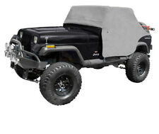 Gray Water Resistant Cab Cover Jeep Wrangler YJ 1987-1991 13310.09 Rugged Ridge