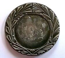 Médaille sports, diamètre: 50 mm, poids: 60 g.