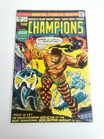 THE CHAMPIONS 1 1975 MARVEL BRONZE AGE COMIC BOOK F-