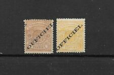 Luxembourg official Scott O11 & O14 mint