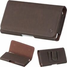 Fundas y carcasas Universal de piel para teléfonos móviles y PDAs Samsung