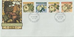 1986 Australia oversize FDC cover New Holland - Cook`s Voyage