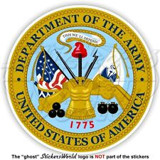 US DEPARTMENT of the ARMY Seal USA United States America, American Decal Sticker