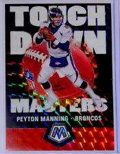 2020 Panini Mosaic Peyton Manning Touchdown Masters SILVER Mosaic Prizm Broncos