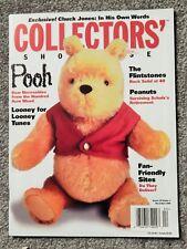COLLECTORS' SHOWCASE MAGAZINE  MAR/APR 2000, POOH BEAR COVER,FLINTSTONES,PEANUTS