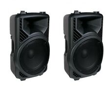 "(2) NEW Furrion FPA300B 720W 2 Way High Output DJ PA Speaker 12"" Subwoofer Pair"