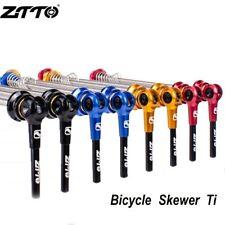 1 Pair Bicycle Skewers Wheel Quick Release Skewers Axle Ultralight Lightweight