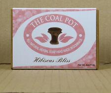 113gr. Hibiscuss Bliss Shampoo Bar Soap/Seife, VEGAN, all natural, Coal Pot