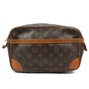 LOUIS VUITTON Compiegne 28 Monogram Handbag Clutch M51845