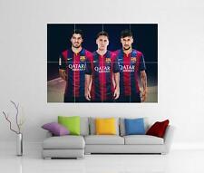 Messi Neymar & Suarez Barcelona Barca Brasil Gigante Pared Arte Foto impresión Cartel