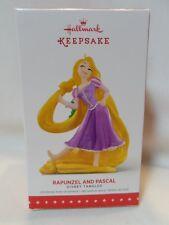 2015 Hallmark Keepsake Ornament Rapunzel and Pascal Disney Tangled B35