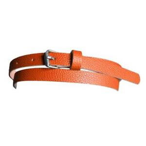 Women Fashion Lady Girl Thin Skinny Waist Belt Patent Leather Waistband